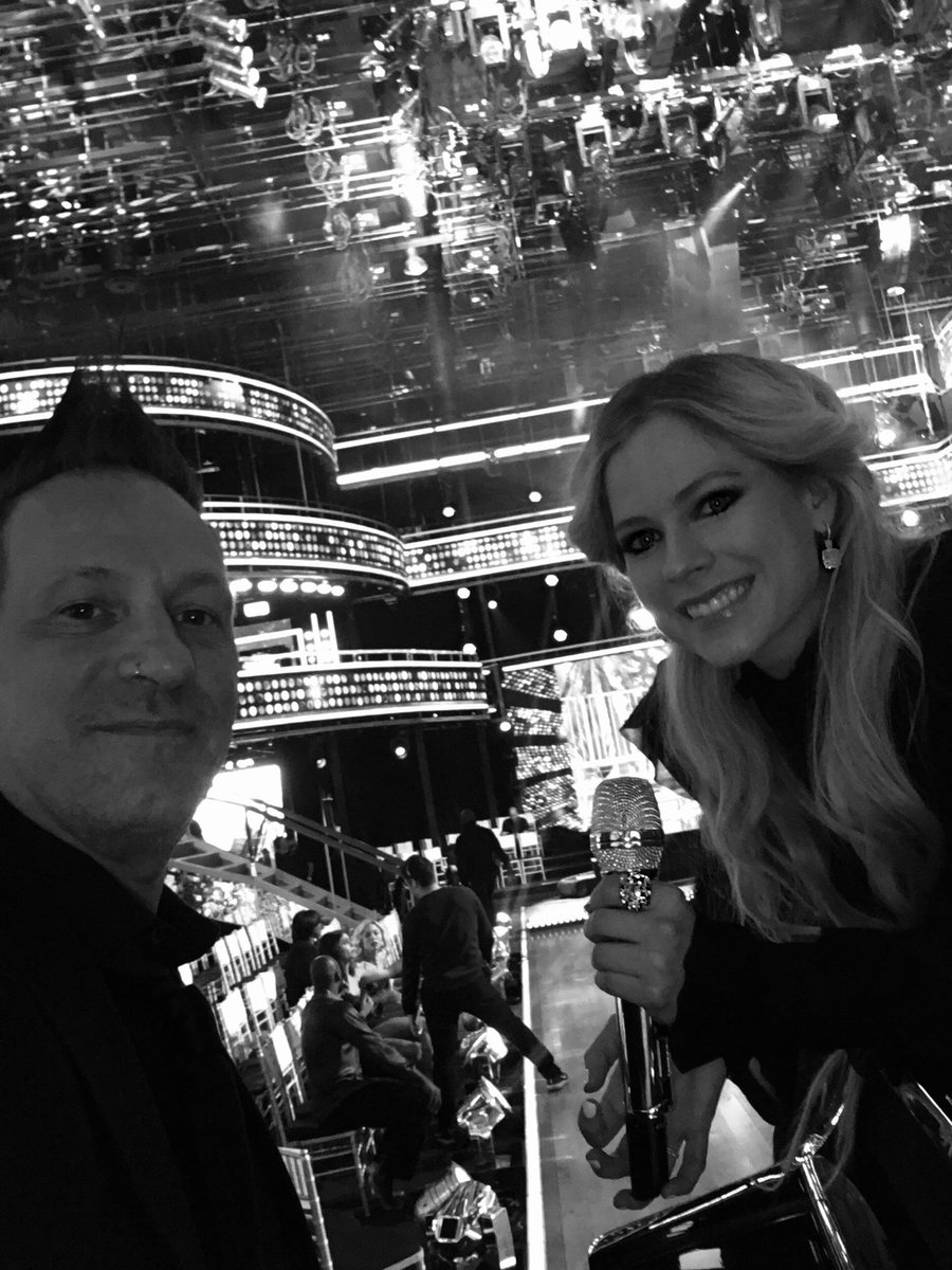 .@Ferlazz and I at @dancingabc ???? https://t.co/jiQCK6Mtyl