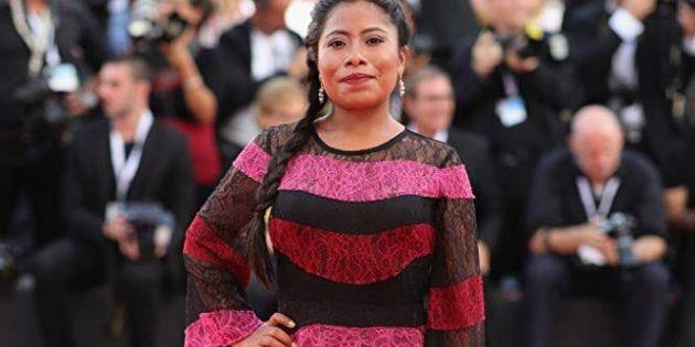 Yalitza Aparicio, con su personaje de Cleo, en 'Roma' de @alfonsocuaron fue nombrada como la mejor actuación por @TIME .
