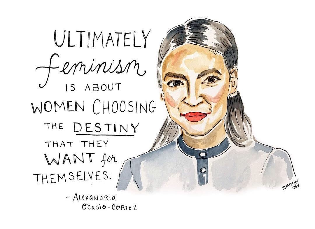 .@Ocasio2018 is a total #wcw. ???????? Art by @KimothyJoy https://t.co/ilznWEtc3Y