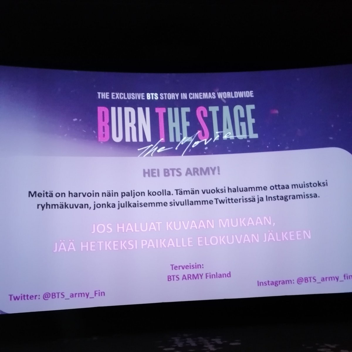 RT @YouTube: Years of blood, sweat, and tears have led to this -- and @bts_twt is just getting started.    #BurnTheStageTheMovie is out now…