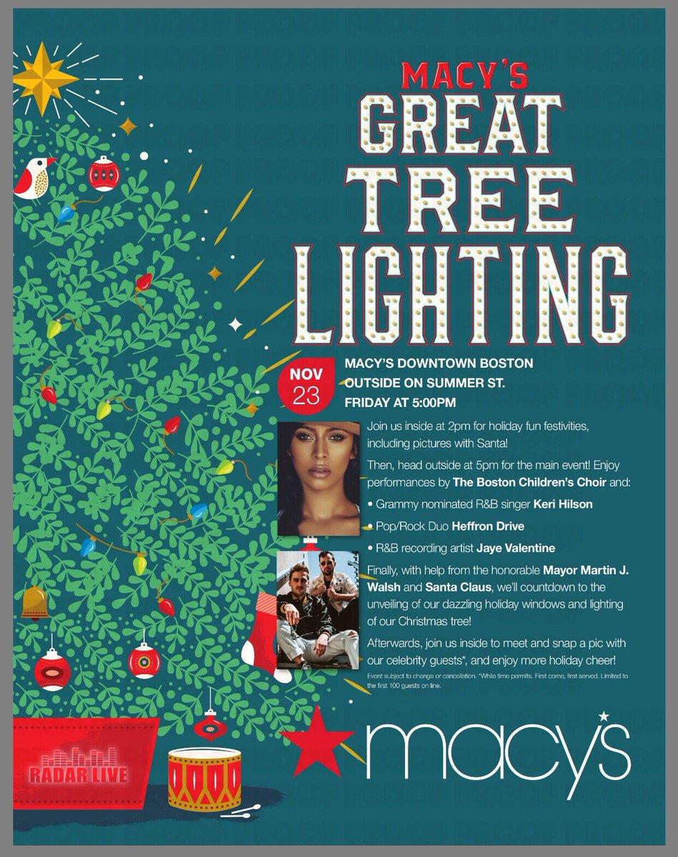 Headed to #Boston today for @Macys Christmas Tree Lighting!!! https://t.co/DejS9G8z2D