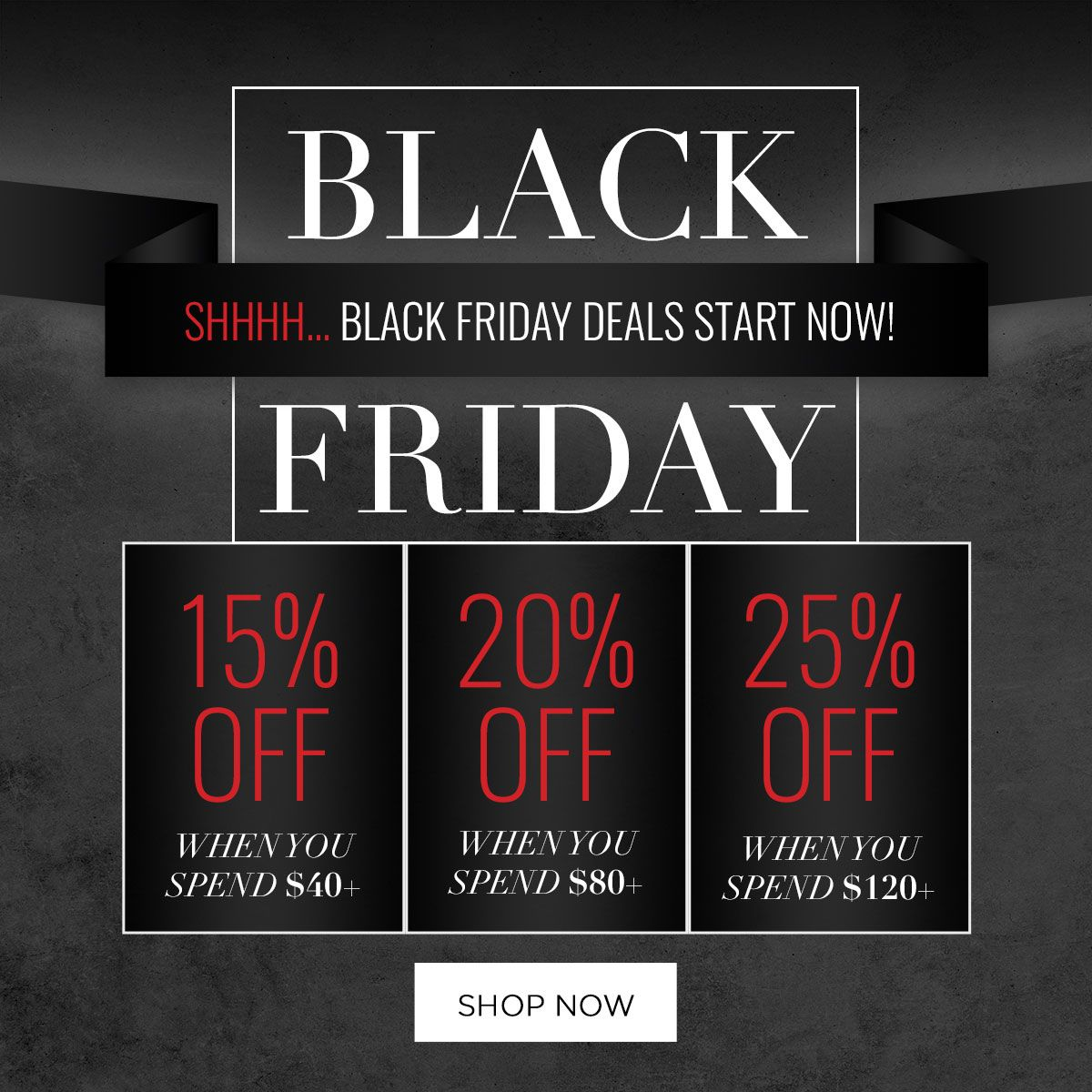 Black Friday is up and running in the Evanescence store. Head over now for some great deals! https://t.co/q4zVT5ejY6 https://t.co/ZK7eb4cwPt