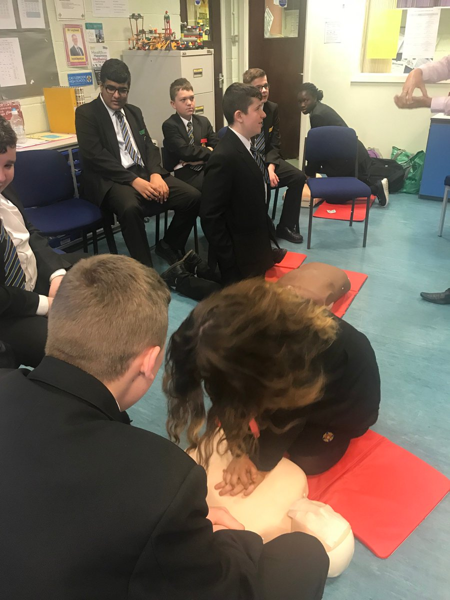 """test Twitter Media - Congratulations to our Year 9 ASDAN group who are all now Emergency Life Support trained #aimhigher"""" https://t.co/w5aBA6jhd4"""