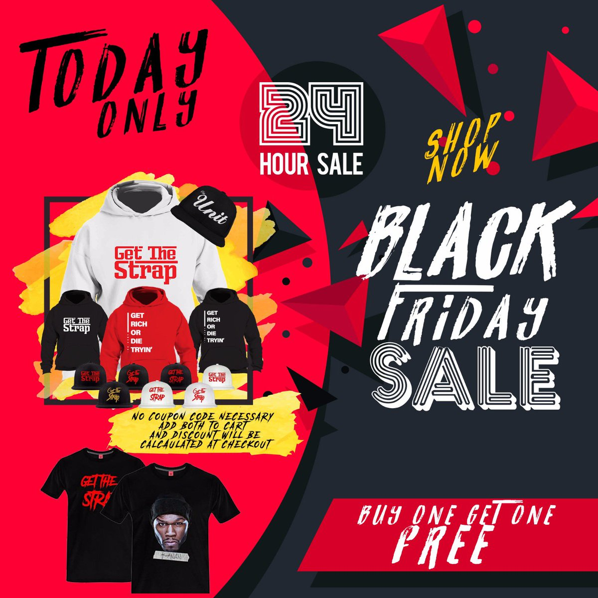 6 Hours Left | Buy One, Get One FREE!! https://t.co/fOHBnoBOTi https://t.co/GpnUgktxdr