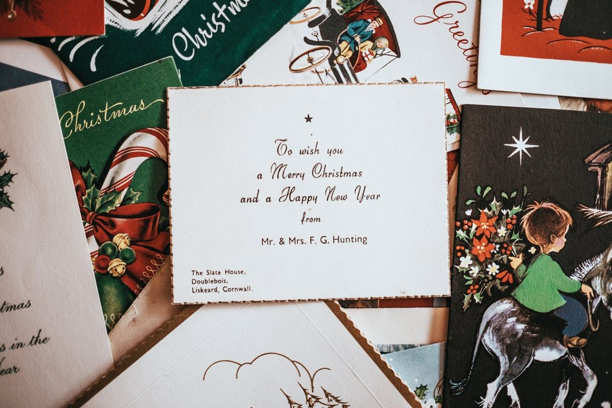 Why you should send a christmas card to someone you love this year ...