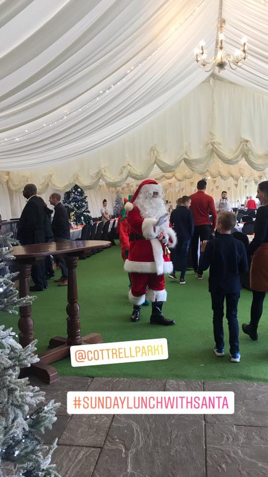 test Twitter Media - Its a busy Sunday Lunch with Santa today with over 200 people booked for a delicious Sunday Carvery & the chance to meet Santa in his Grotto. #sundaycarvery #sundaylunchwithsanta #cardiff #valeofglamorgan @SPIROSCATERERS https://t.co/EJqB6nOAMW