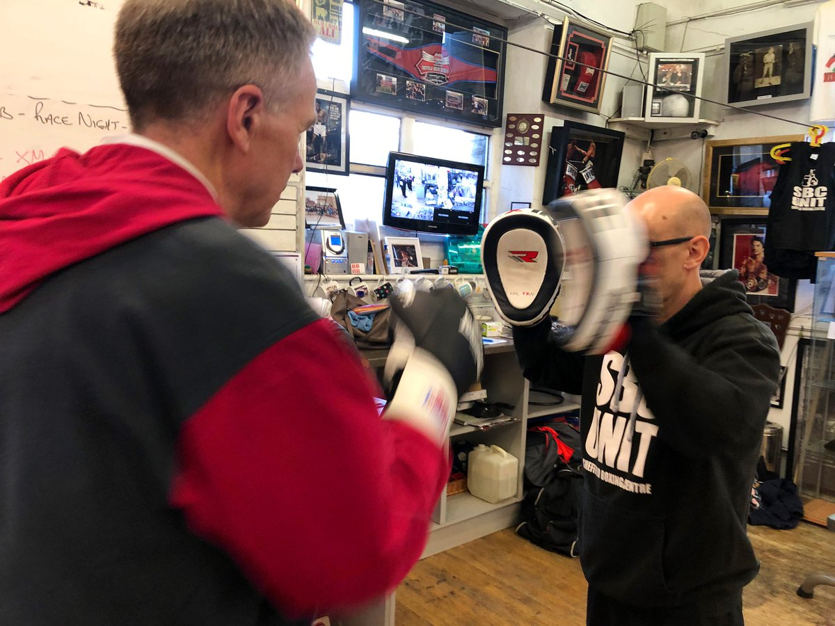 test Twitter Media - On @itvcalendar tonight @RachTownsendITV talks to Glyn Rhodes MBE @SBC_UNIT about the benefits of boxing with Parkinson's https://t.co/7hd6nuh4Q5