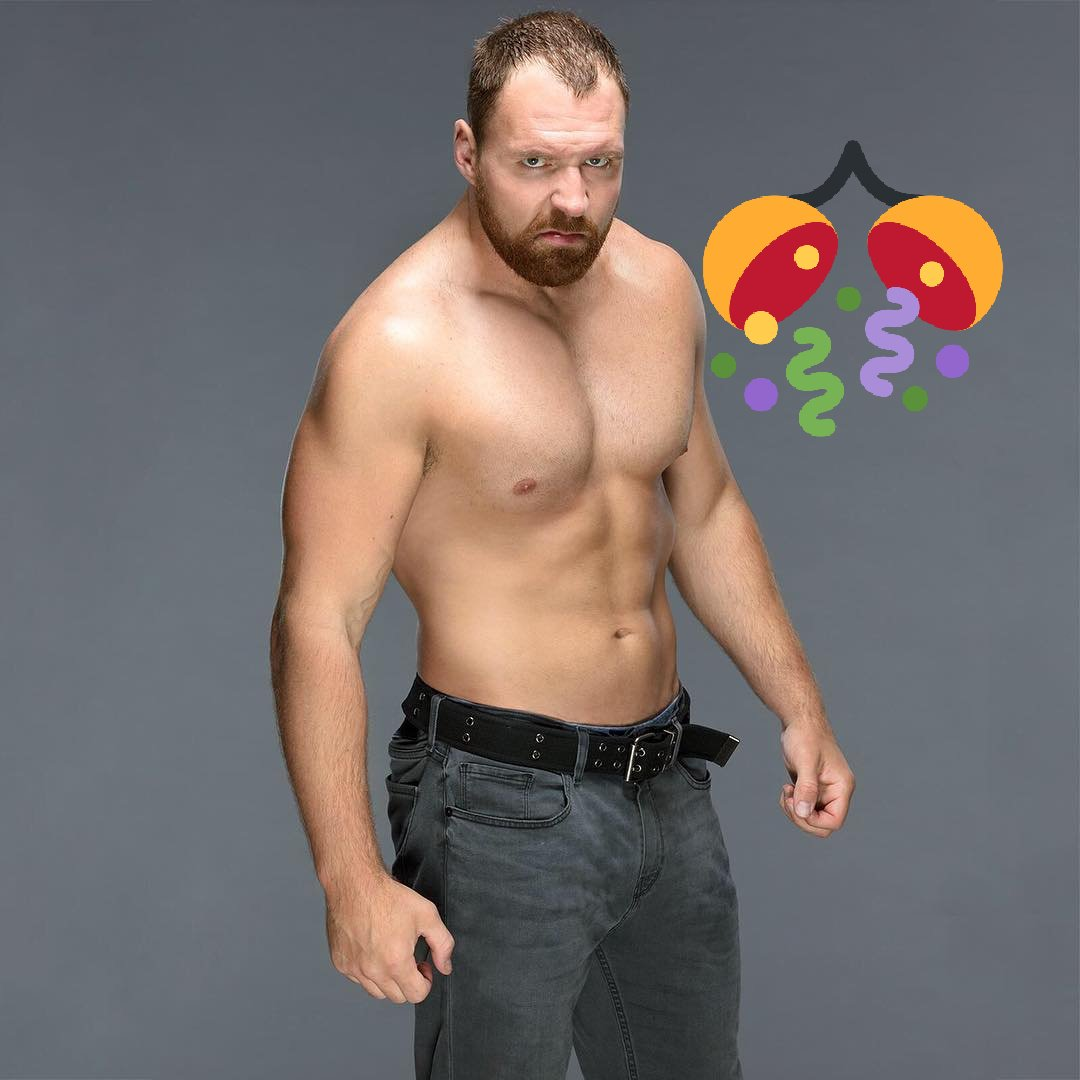 Happy birthday dean Ambrose live long life keep smile and believe in the shield believe that