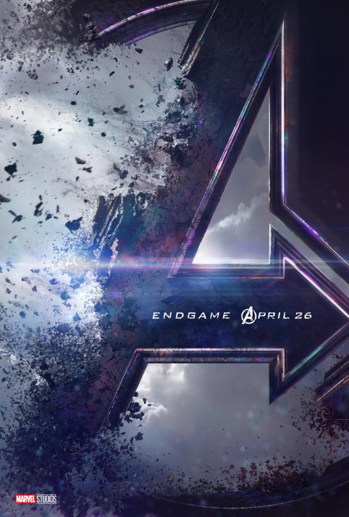 RT @Avengers: Here's your first look at the poster for Marvel Studios' #AvengersEndgame, in theaters April 26, 2019! https://t.co/kPSJKcnriq