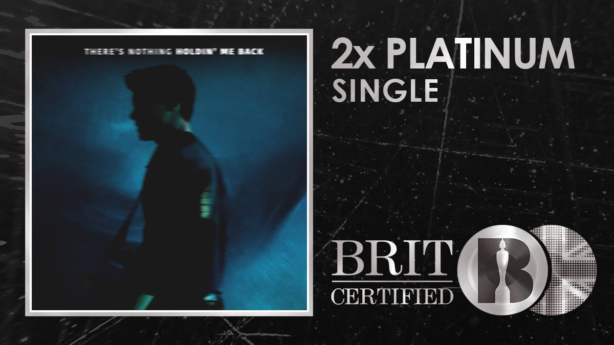 RT @BRITs: 🙌 There's nothing holding @ShawnMendes back from a #BRITcertified 2x Platinum banger! Congrats! 🇬🇧💿 https://t.co/2SEBfBe7Vj
