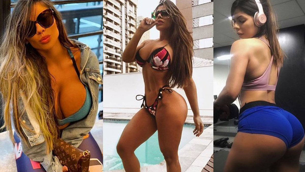 RT @sporthiva: Miss Bumbum Suzy Cortez arrasa en sensual portada de revista https://t.co/aq05jcfTUc https://t.co/TzGXf22TN0