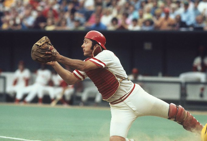 Happy 71st Birthday JOHNNY BENCH! Photo:
