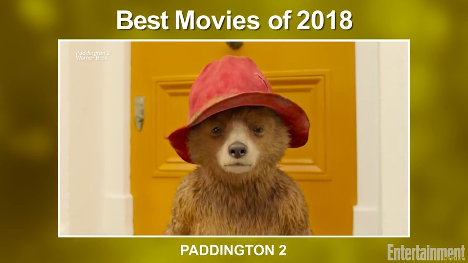 From Paddington2 to BlackPanther to SorryToBotherYou, these are the best movies of 2018: