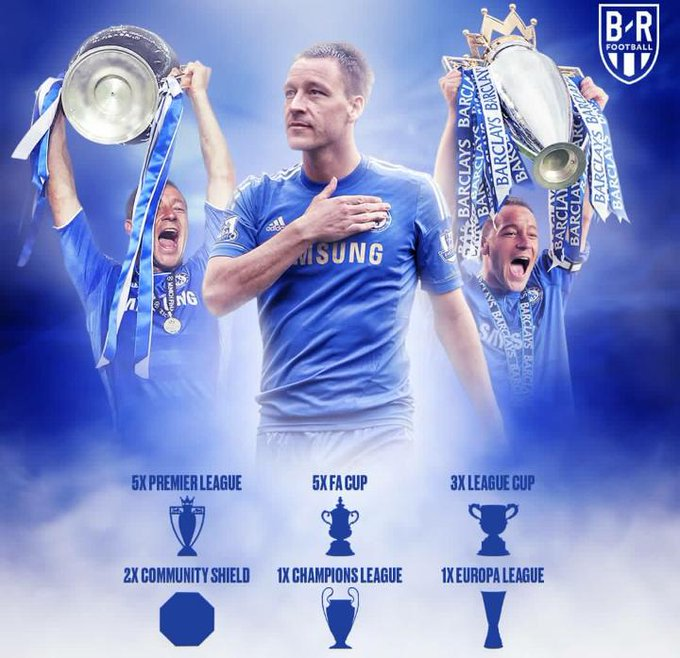 HAPPY BIRTHDAY JOHN TERRY...CAPTAIN, LEADER & LEGEND. HAVE A SPLENDID BIRTHDAY AND A FULFILLING YEAR.