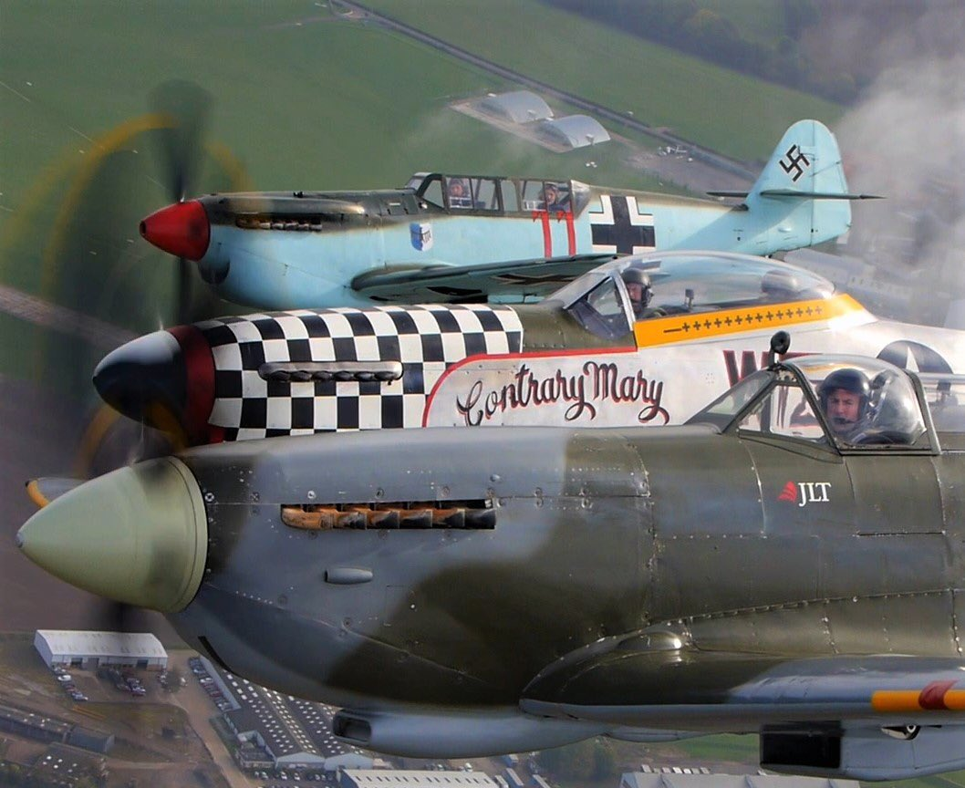 test Twitter Media - Would you like a free air to air photo of you flying in any one of our 3 dual control warbirds - book your flight before end January 2019 to secure this fab offer: flights@ML407.co.uk https://t.co/OihoyPqLIM
