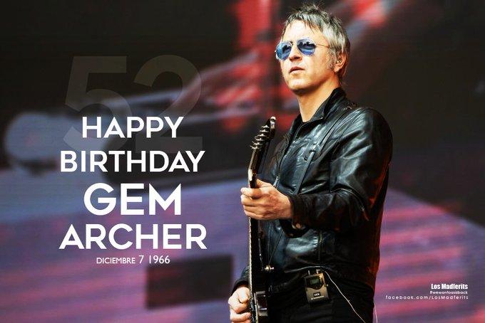 HAPPY BIRTHDAY Feliz cumpleaños Gem Archer   52 años de talento...!!!