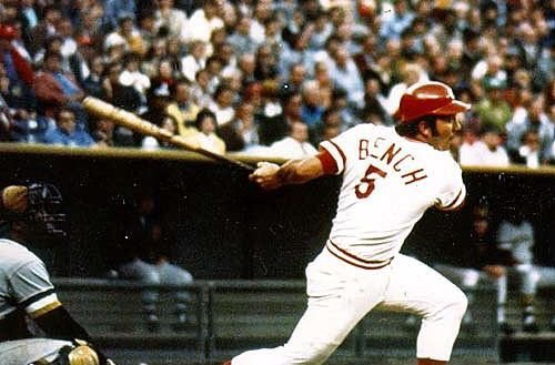 happy birthday to Johnny Bench and Larry Bird.  Two of all time favorite athletes.