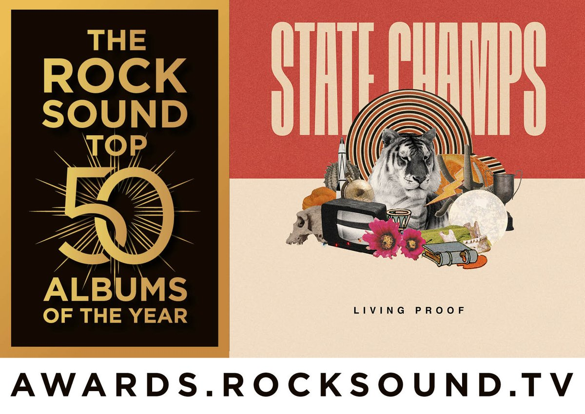 RT @State_Champs: Living Proof is included in @rocksound's Top 50 Albums Of The Year! https://t.co/mesCUVbp9x