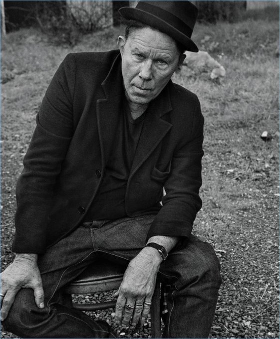 Happy birthday, Tom Waits. Here s a blanket and a bowl of soup.