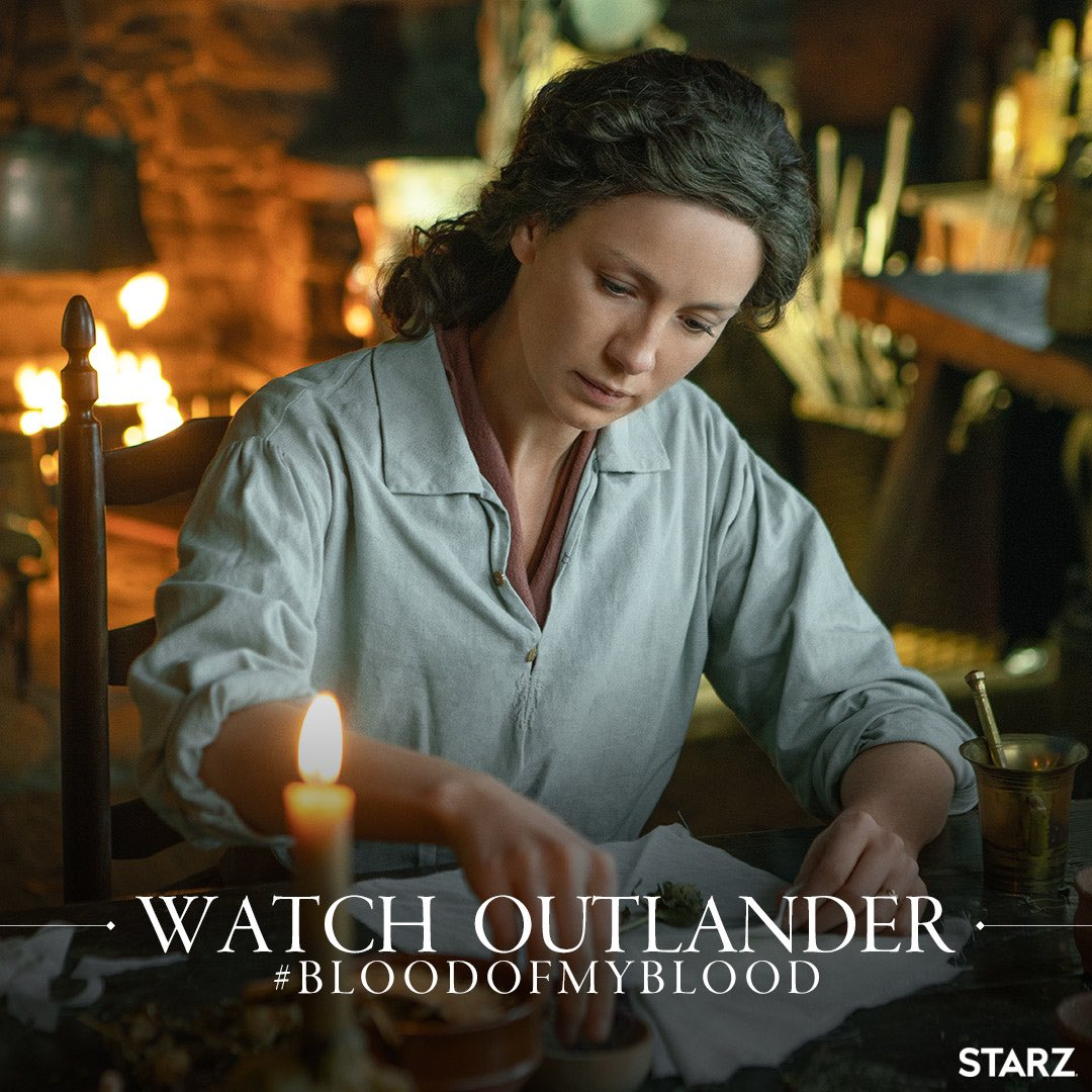 New Ep this weekend !!!!! #BloodOfMyBlood It's a good one!!! @Outlander_STARZ https://t.co/RAk8DMIX97