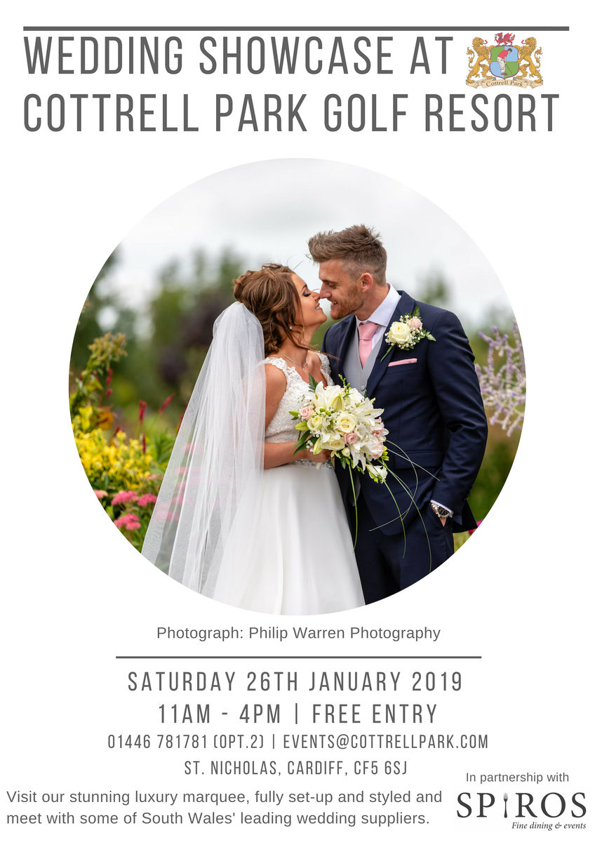 test Twitter Media - Wedding Showcase - Saturday 26th January 2019 💍  Join our resident Award Winning Caterers @SPIROSCATERERS who will be providing complimentary Arrival Drinks & Canapes, along with various other fabulous select Suppliers.  @djsoundandlight   #wedding #weddingshowcase #cottrellpark https://t.co/SjWLcKobHE
