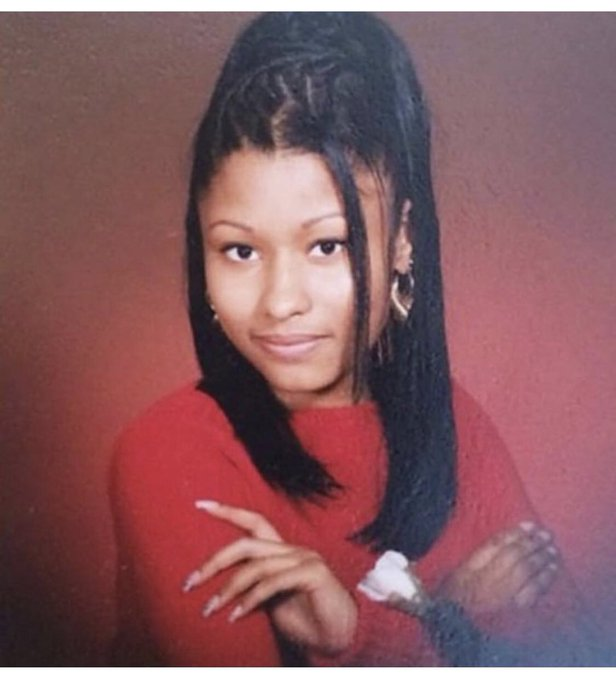 Happy birthday to a woman I call Queen goes by the name of nicki Minaj ! I love you so much
