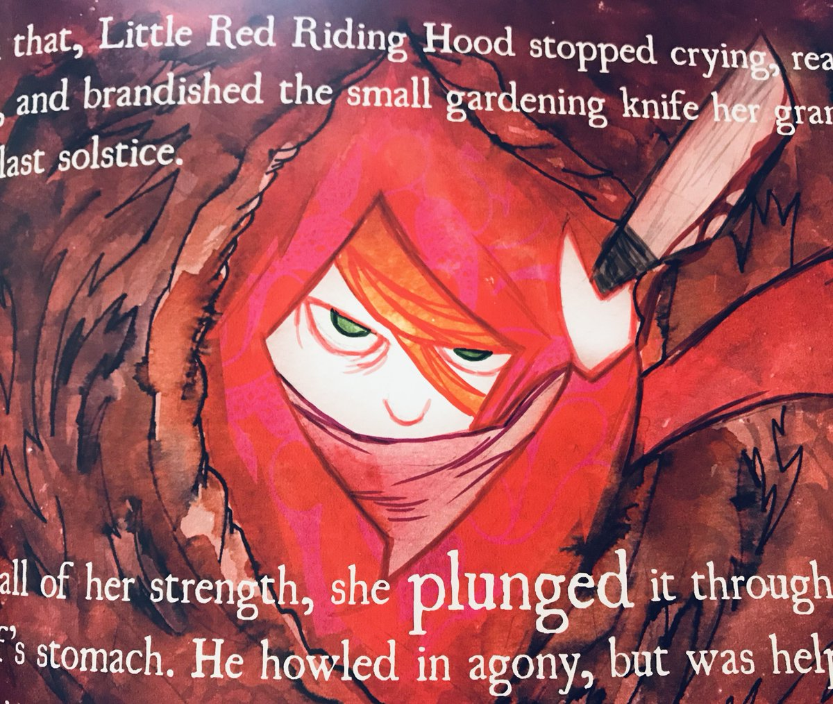 Feminism in the form of a graphic novel fairytale. Get a copy here: https://t.co/CNbgy0vJAN #LittleRedRidingHood https://t.co/OgHaJbw3dg