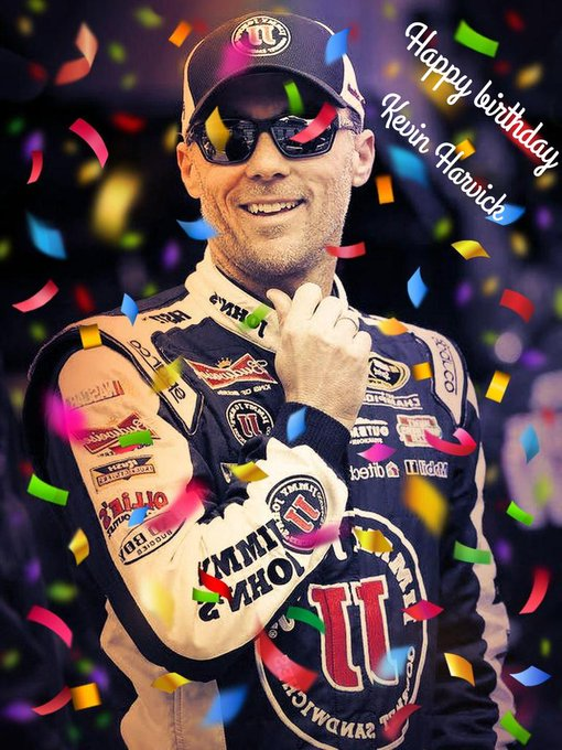 Happy birthday Kevin Harvick     have a wonderful day