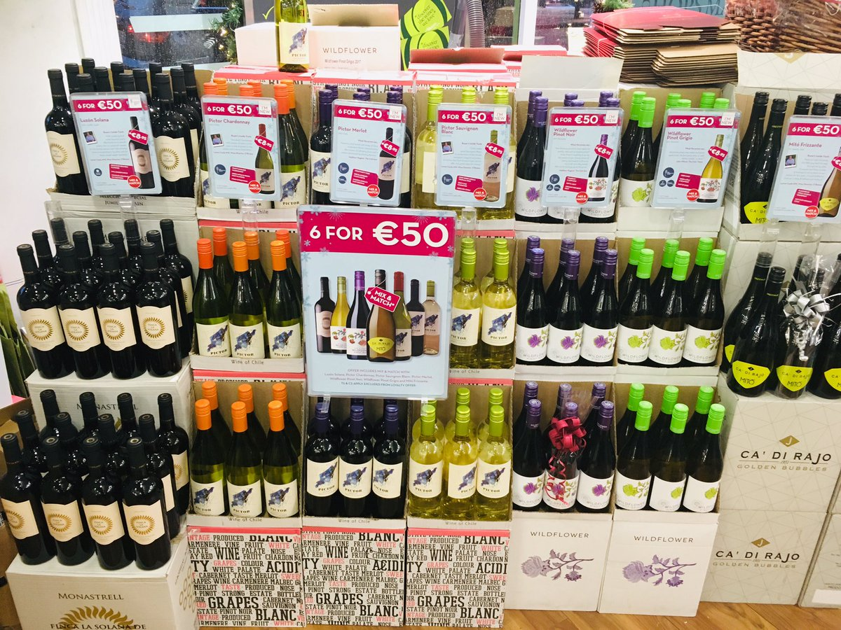 Great variety in our 6 for €50 wines!! Even a delicious Frizzante! 🤩  (^Carlow) https://t.co/kyblesrfJZ