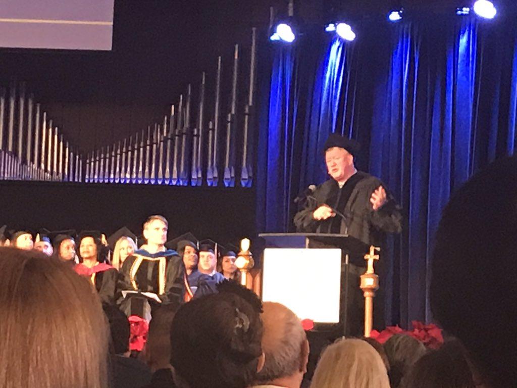 RT @JudsonU: Commencement speaker Mr. Bob Lenz sharing about dignity. #judsonawesome https://t.co/0Vje7pqU2K