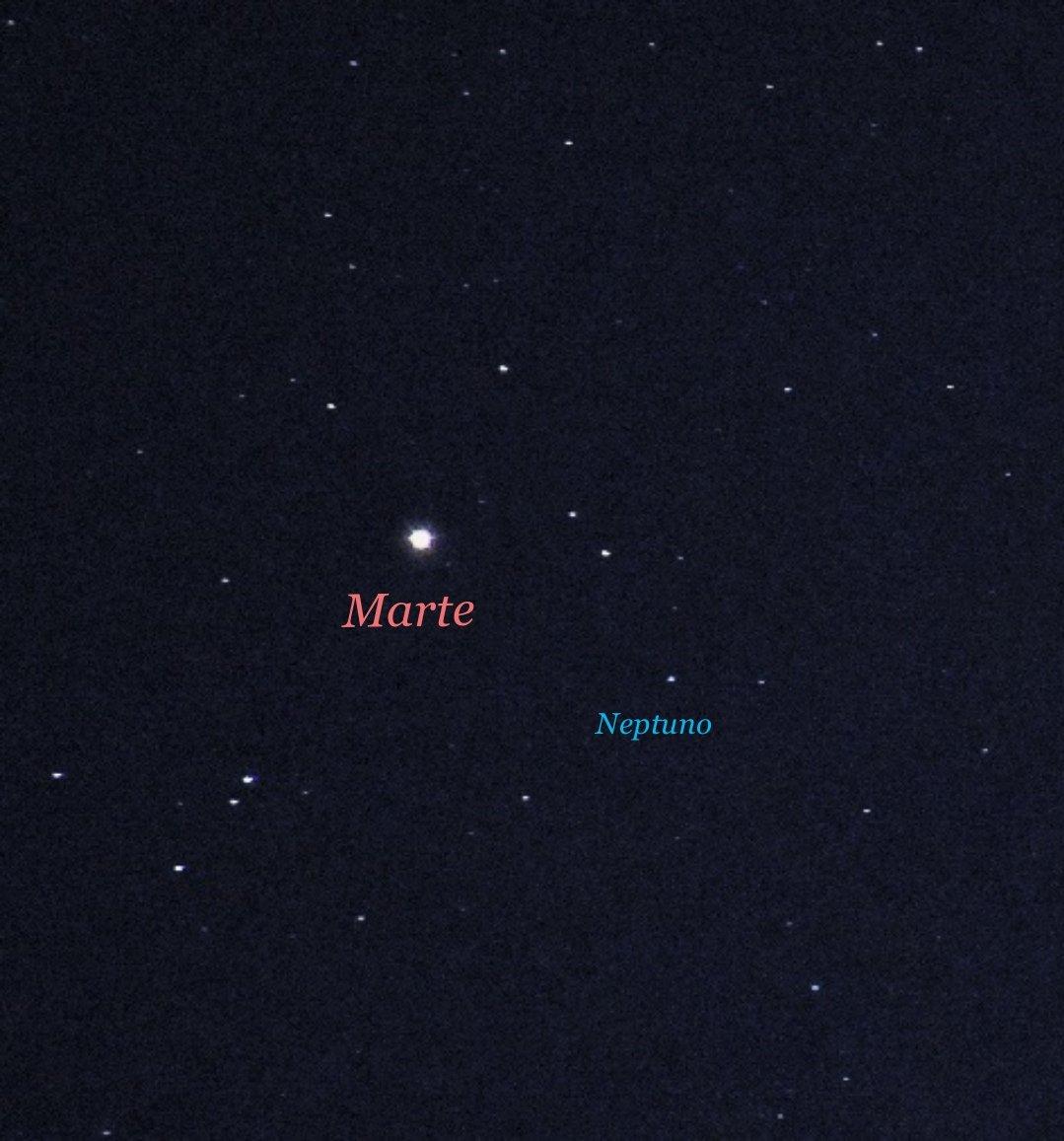 RT @AstronomiaRivas: Conjunción de Marte y Neptuno. #Marte #Mars #Neptuno #Neptune #conjuncion #conjunction #cielosESA #planetariofoto @esa_es @esa @PlanetarioMad @myuniversoo @AstroAficion @El_Universo_Hoy @universetoday https://t.co/HMjVwkH9RU