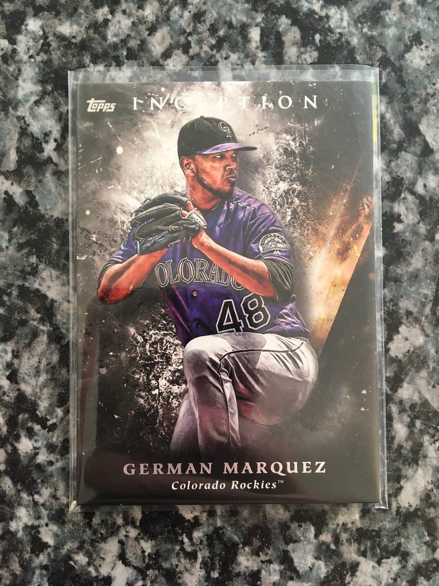 German Marquez 2018 Inception! $1! Please RT! @ryank1388 https://t.co/FqqBY0Hwny