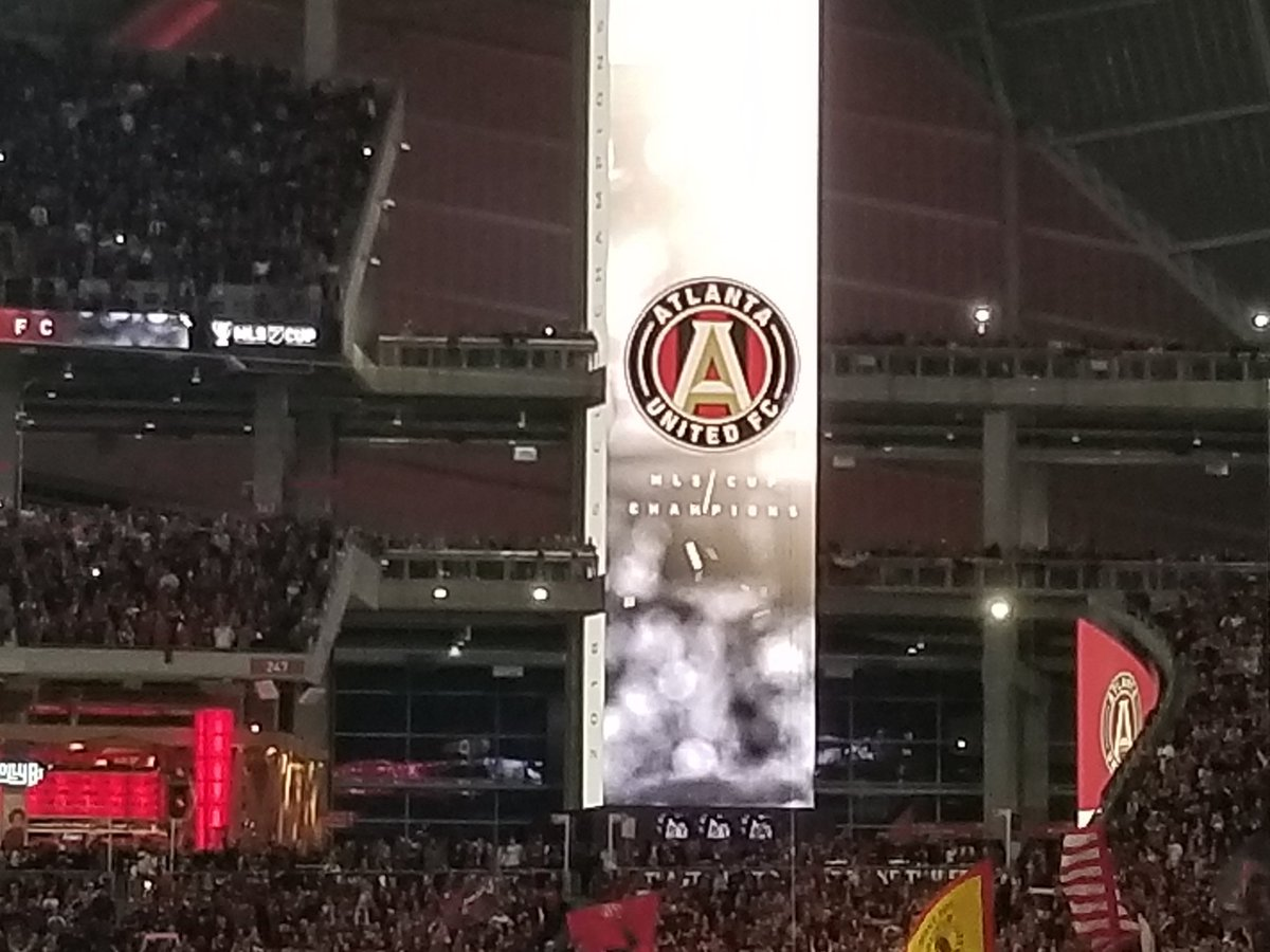test Twitter Media - WE ARE CHAMPIONS!!!!!!!!! #MLSCup #UniteAndConquer https://t.co/JxgiFrmbe6