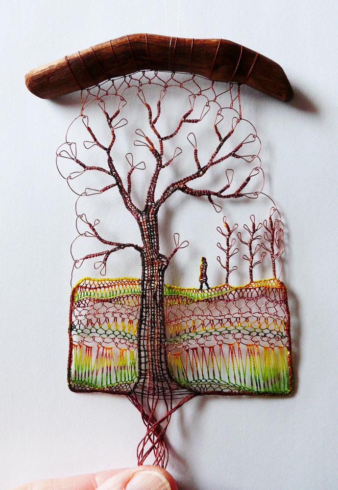 RT @womensart1: Hungarian artist Agnes Herczeg creates figurative and landscape lace works  #womensart https://t.co/U1y419xyrJ