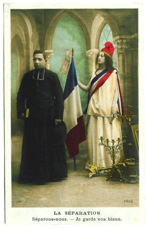 test Twitter Media - RT @LarrereMathilde: 9 décembre 1905 Adoption de la loi de séparation des Eglises et de l'Etat  (fil à dérouler) https://t.co/3V38YqoCsL