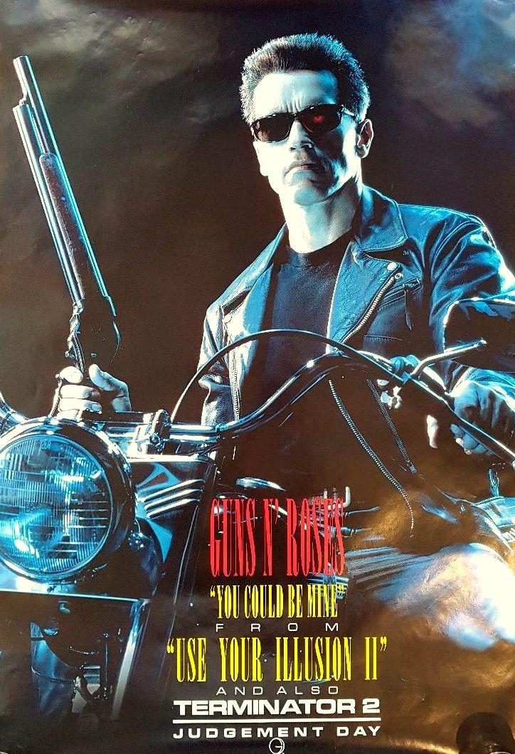 RT @DuffMckaganArg: Killer Terminator 2 / GNR single poster from 1991.  #T2 #GNR #Soundtrack #YCBM #Promoposter https://t.co/12X73177rr