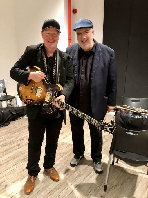 Happy Birthday Randy Brecker!!! You are amazing! ( Here with Randy in Singapore)