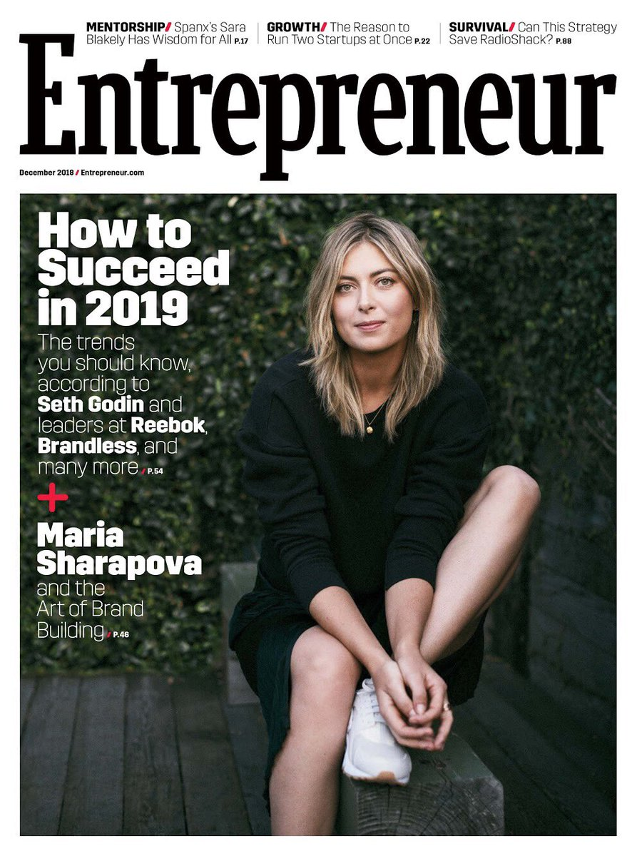 It's officially here! Excited to share the cover of @Entrepreneur magazine with you, on newsstands today. ???? https://t.co/mi98heMfWu