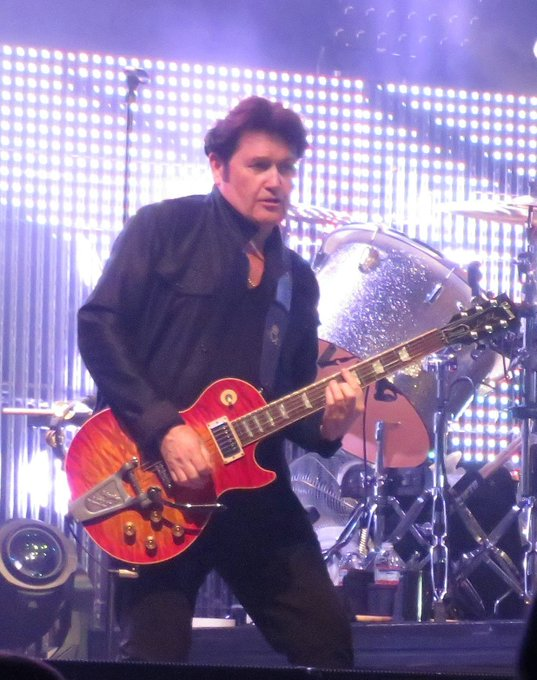 Happy Birthday to Charlie Burchill of the Pics taken at last month.