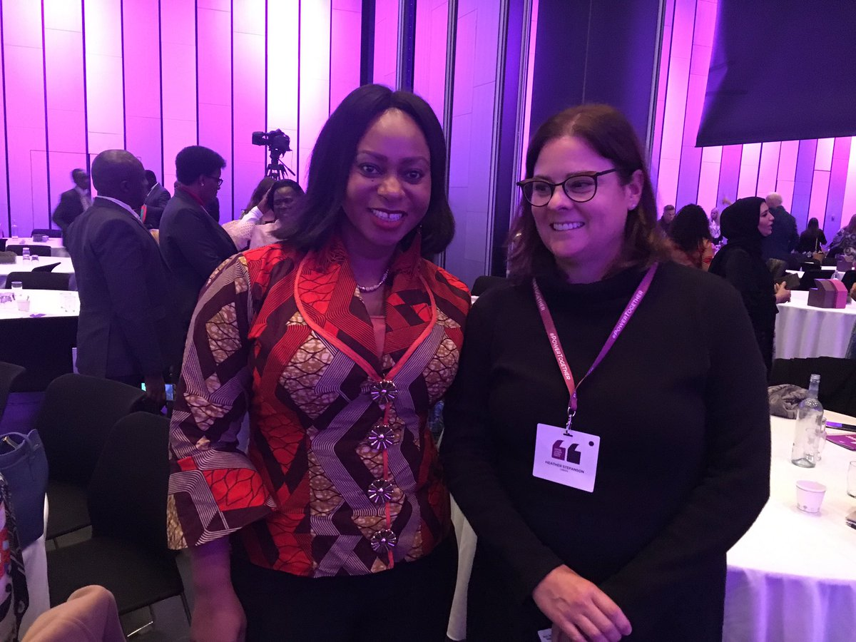 test Twitter Media - Humbled and honoured to meet with @SarahAdwoaSafo at #WLGF2018 @WomenLeadersGF ... an inspiring and visionary leader on the importance of education our young women and girls. #PowerTogether https://t.co/ve51U0qTPL