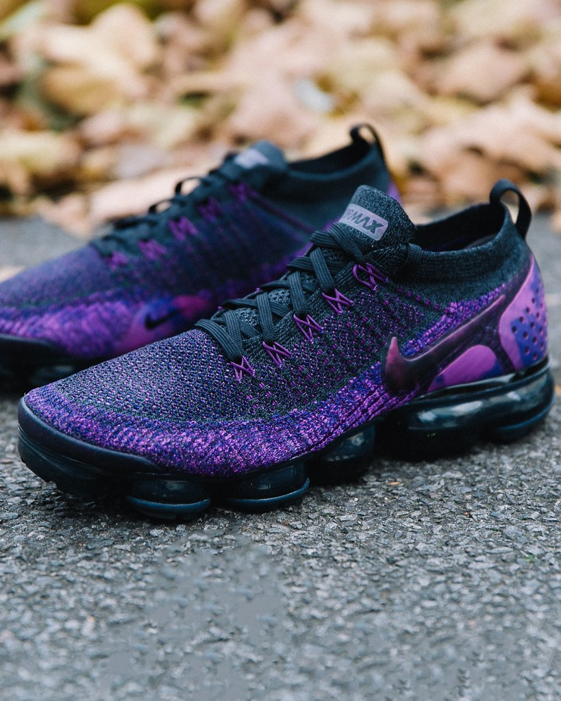 821d8d67dd83 nike air vapormax flyknit 2 night purple available now in store and online