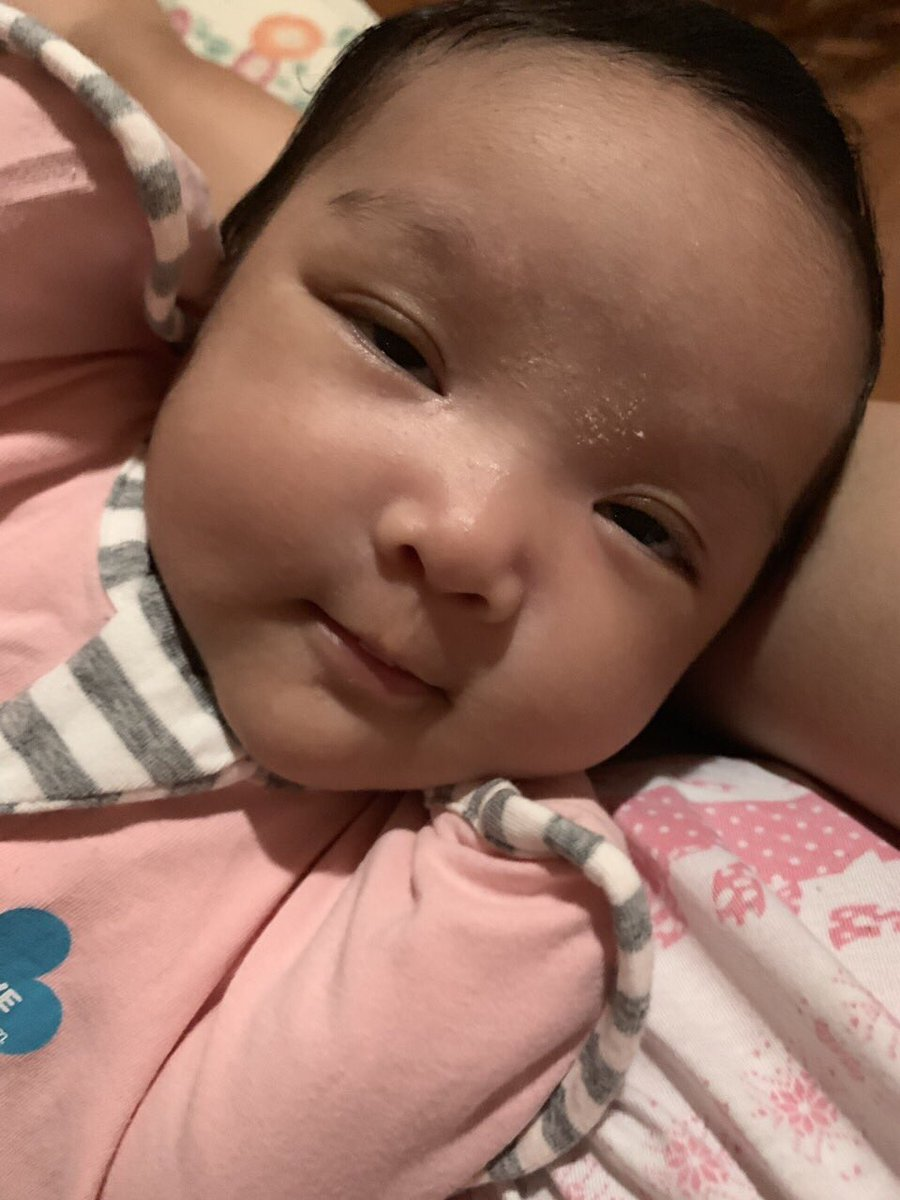 Good morning and have a happy Wednesday from my niece Aria! Grabe the cuteness mukhang siopao https://t.co/550p3Ce7s2