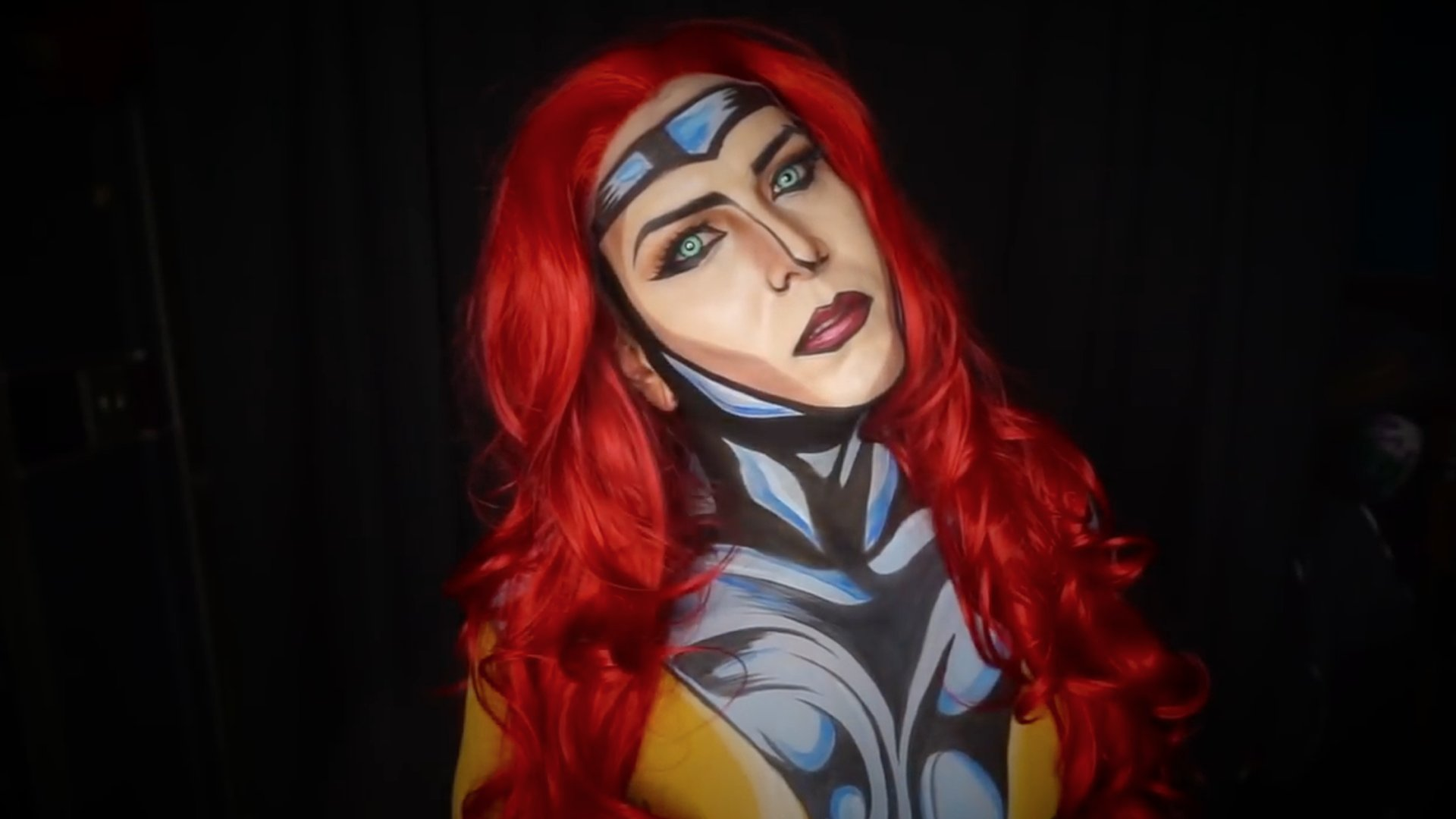 This makeup artist is known as the 'Comic King' 👑 https://t.co/i8qGJoKmQj