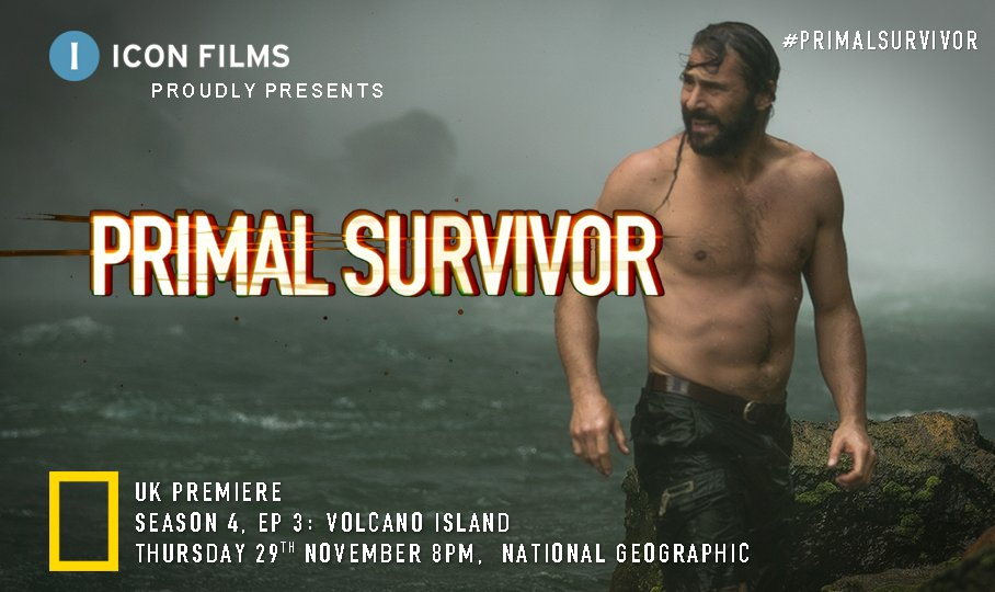 Catch the next episode of #PrimalSurvivor #tonight 8PM on @NatGeoUK as @HazenAudel battles dense jungle, climbs towering waterfalls and summits an active volcano to join a hunt with the Salkon tribe on Gaua Island, Vanuatu #newseries #adventure #survivalist #Vanuatu #SalkonTribe https://t.co/DK8E3cDuSX