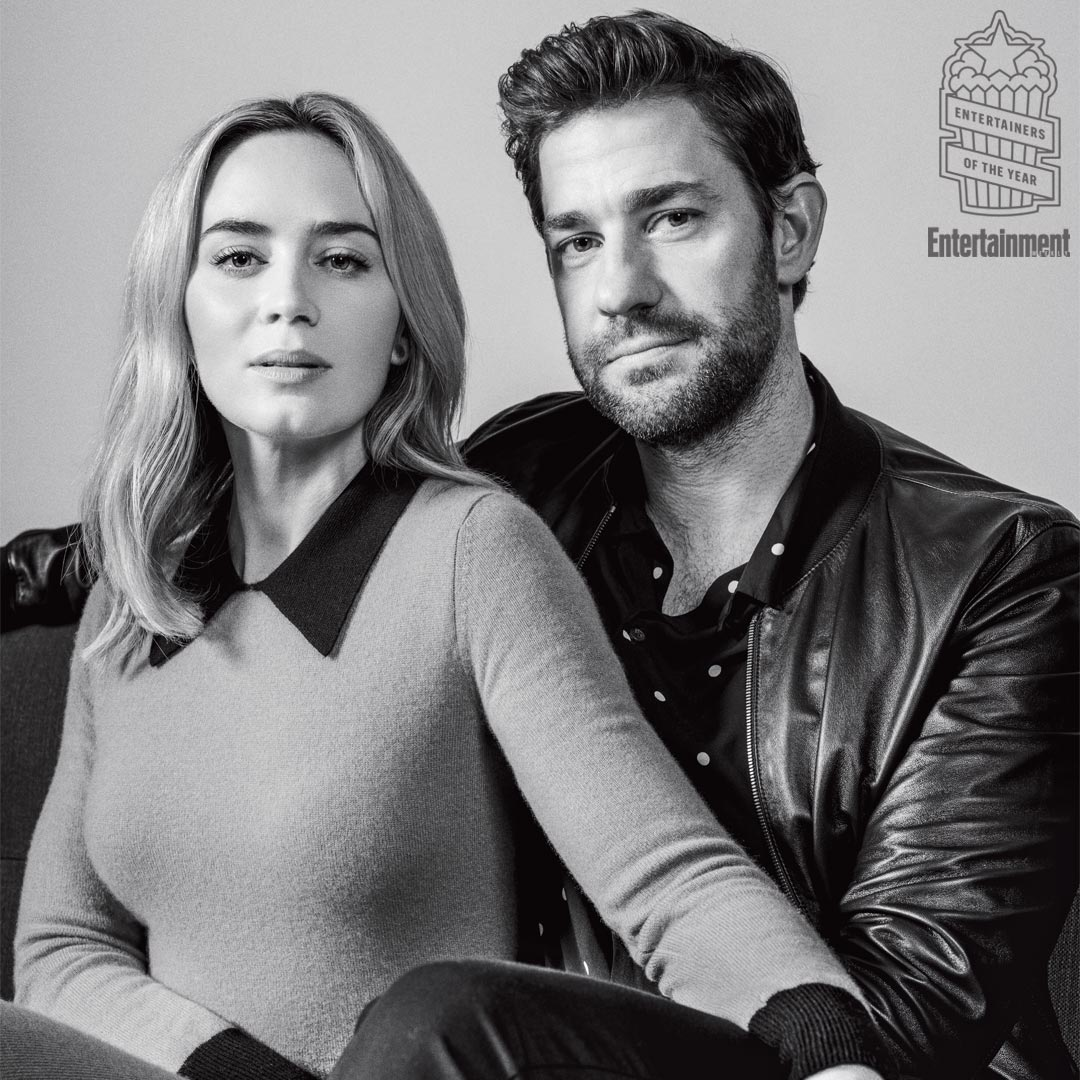 EW's 2018 Entertainers of the Year: Emily Blunt and John Krasinski