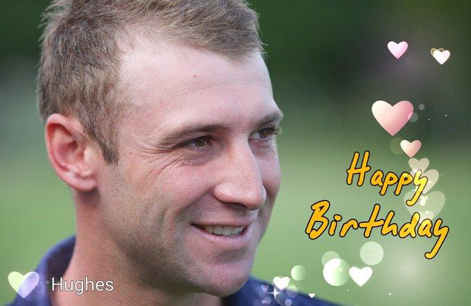 Happy birthday  ..    Hughes