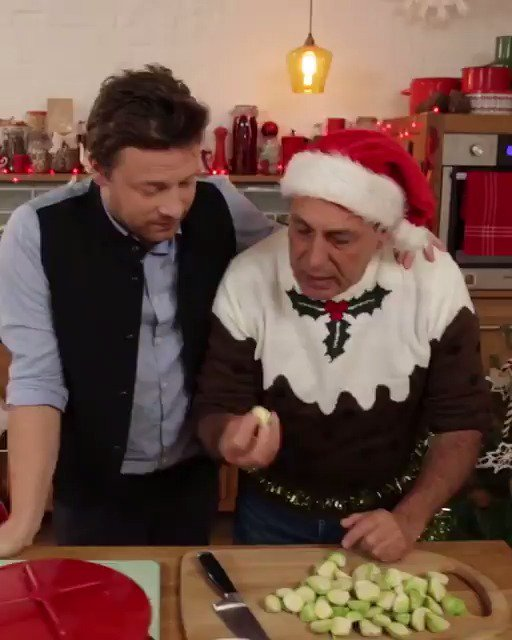 What's your ultimate #Christmas side?!  We can't resist @gennarocontaldo's brilliant Brussels sprouts ???? https://t.co/8fpib9lGSx