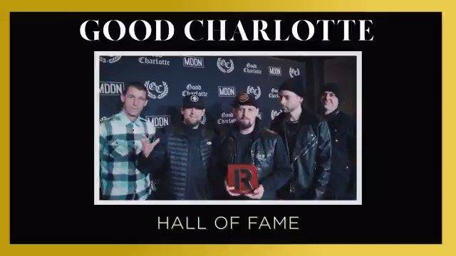 RT @rocksound: Your 2018 Hall Of Fame winner is: @GoodCharlotte!  https://t.co/BTyPT15pat https://t.co/6bBOD31Oj8