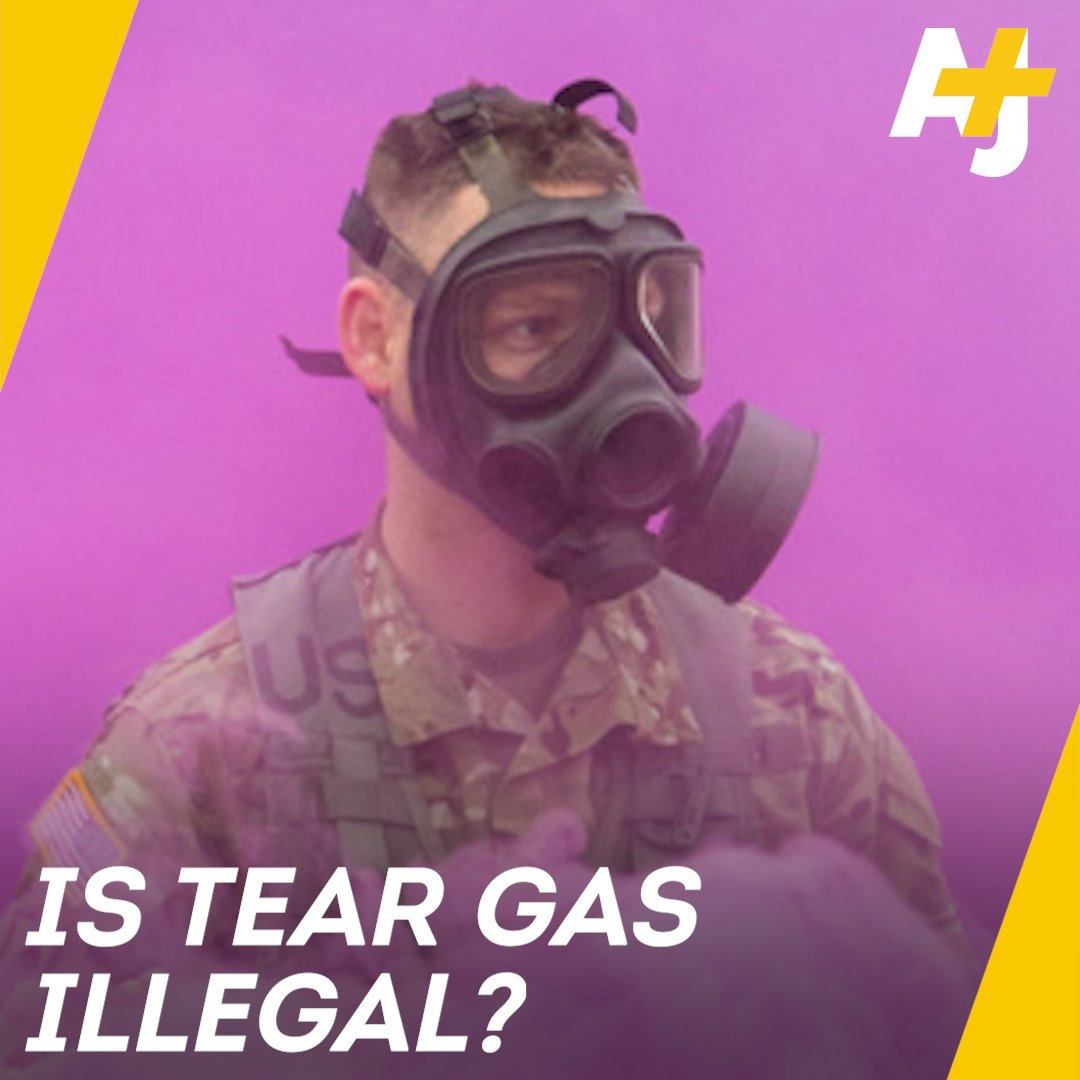RT @ajplus: Tear gas is a chemical weapon banned in warfare, so why is it being used against migrants and refugees? https://t.co/RKF8fDyzYJ