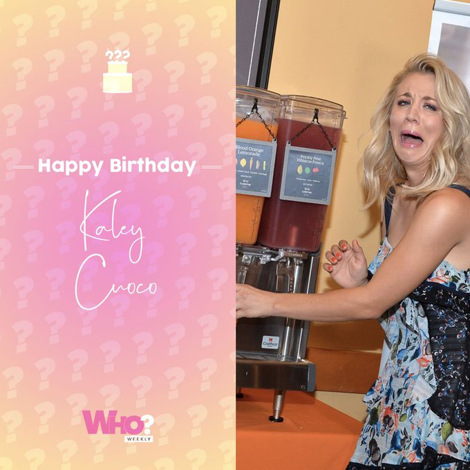 Happy birthday, Kaley Cuoco & Chrissy Teigen!